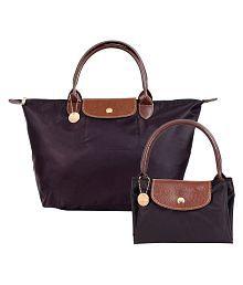 Lino Perros Brown Faux Leather Shoulder Bag - 8070451217006712188