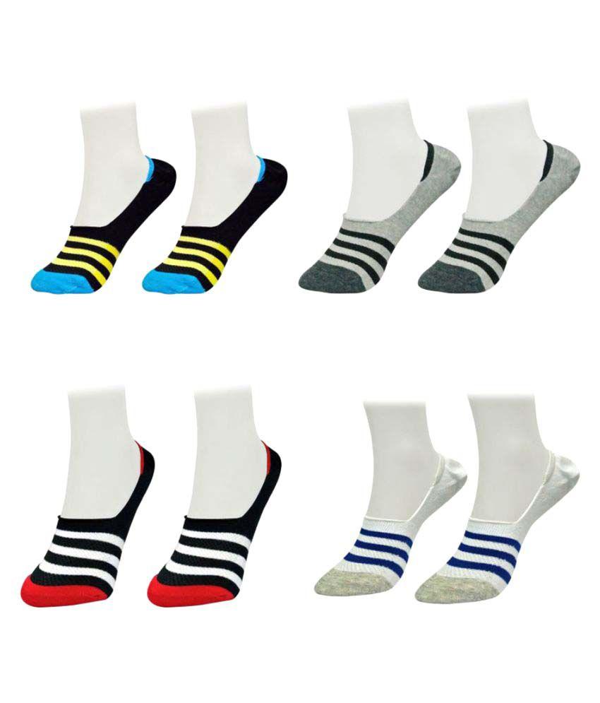 Gold Dust Latest Fancy Loafer Socks (4 Pair)