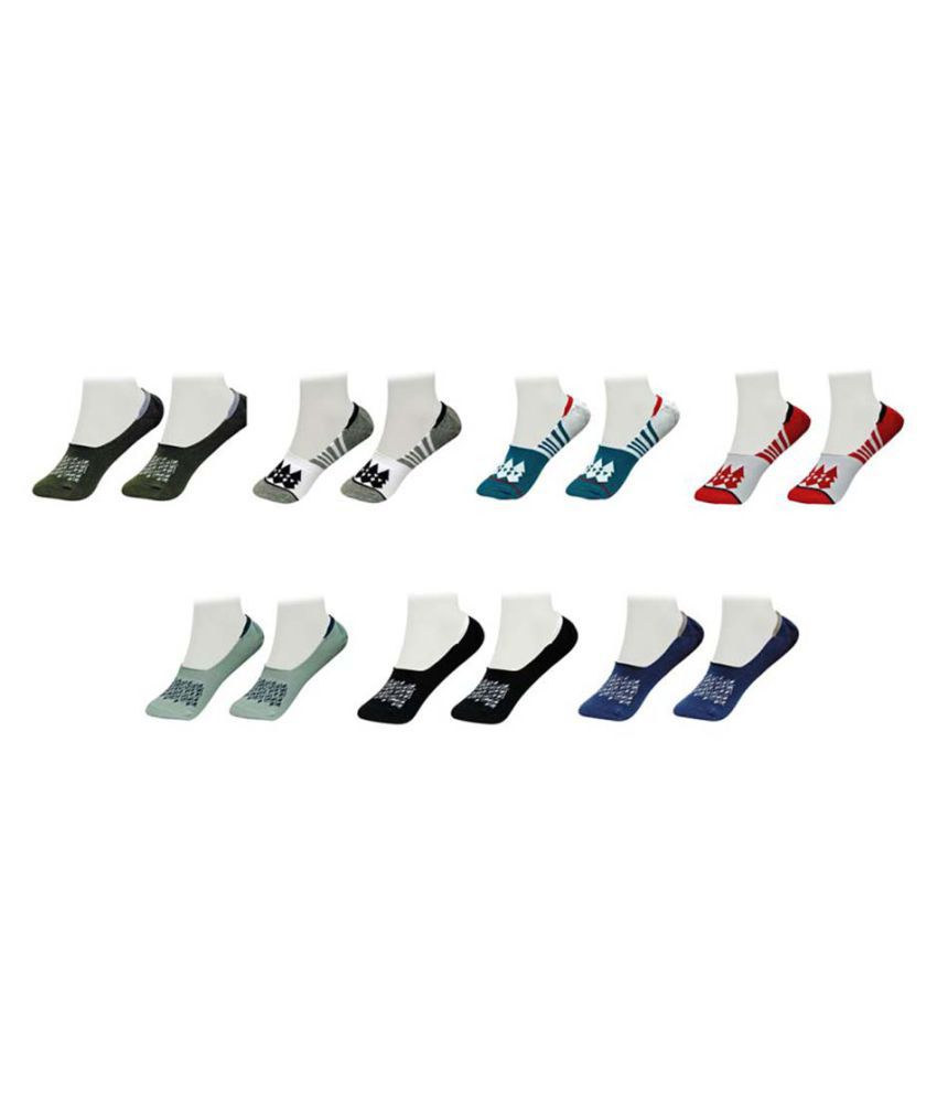Gold Dust Latest Fancy Loafer Socks (7 Pair)