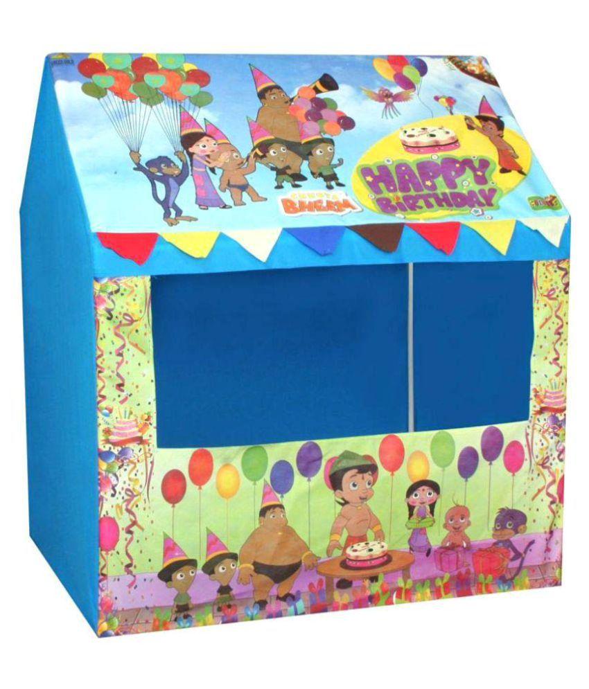 DWIZA Chota Bheem Happy Birthday Tent House