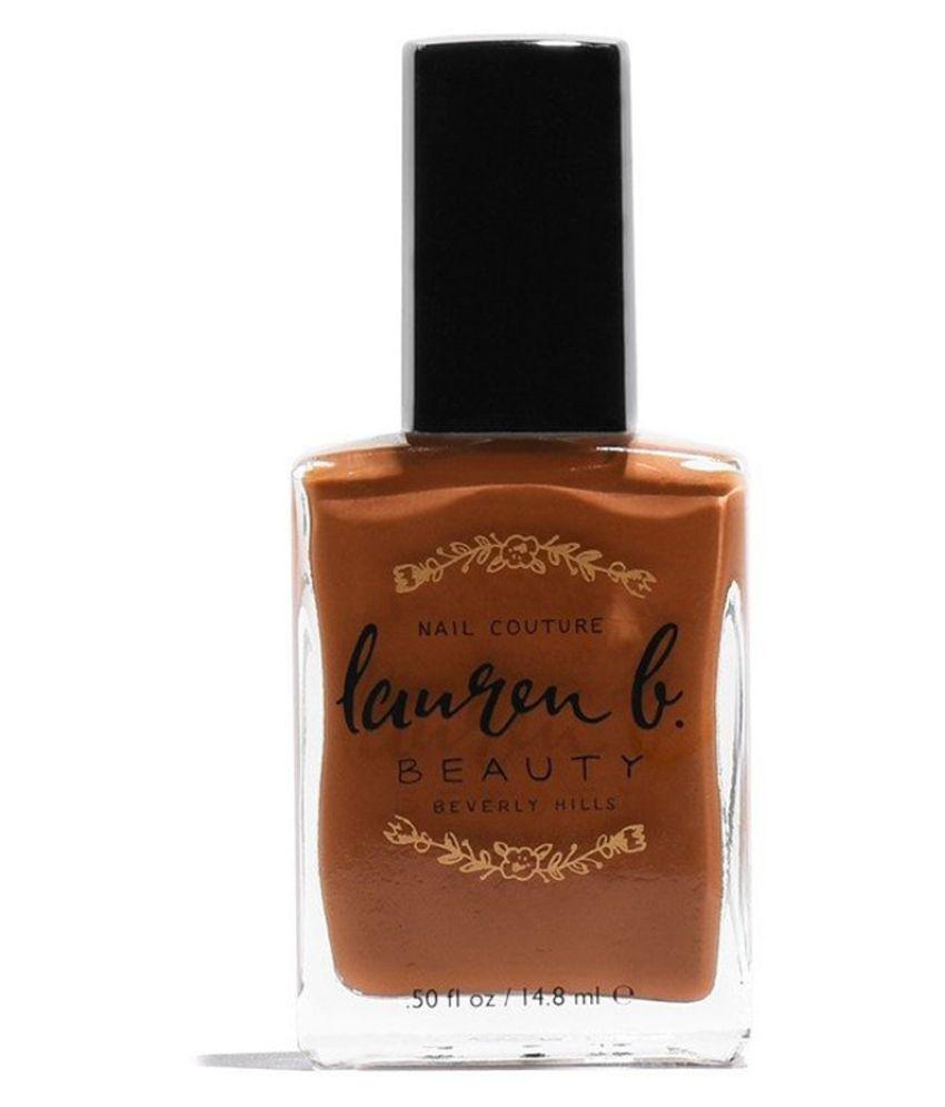 Lauren B Beauty Runyon Canyon Nail Polish Brown Matte 14.8 ml
