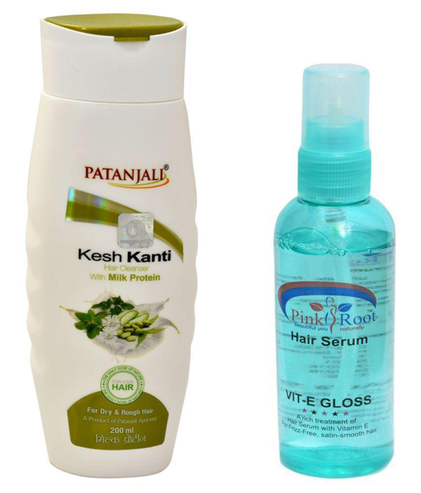Patanjali Kesh Kanti Milk Protein Shampoo 200ml Pack Of 3