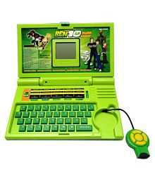 Ben 10 English Learner/Education Laptop For Kids 20 Activities