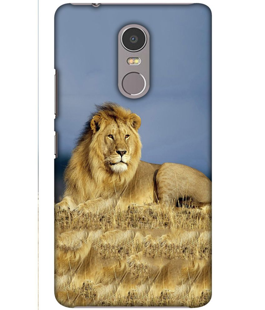 Lenovo K6 Note Printed Cover By Blutec