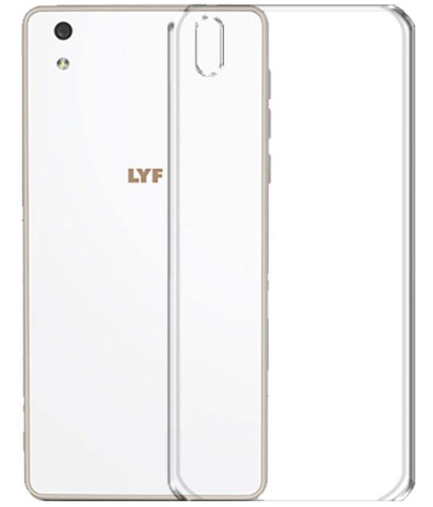 outlet store f21d1 21e06 Lyf Water F1 Soft Silicon Cases Micomy - Transparent