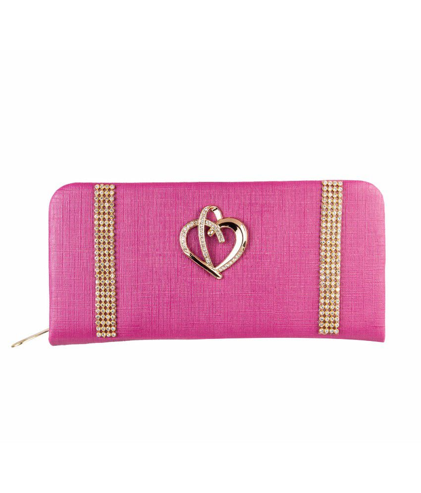 Louise Belgium Pink Handbags & Clutches