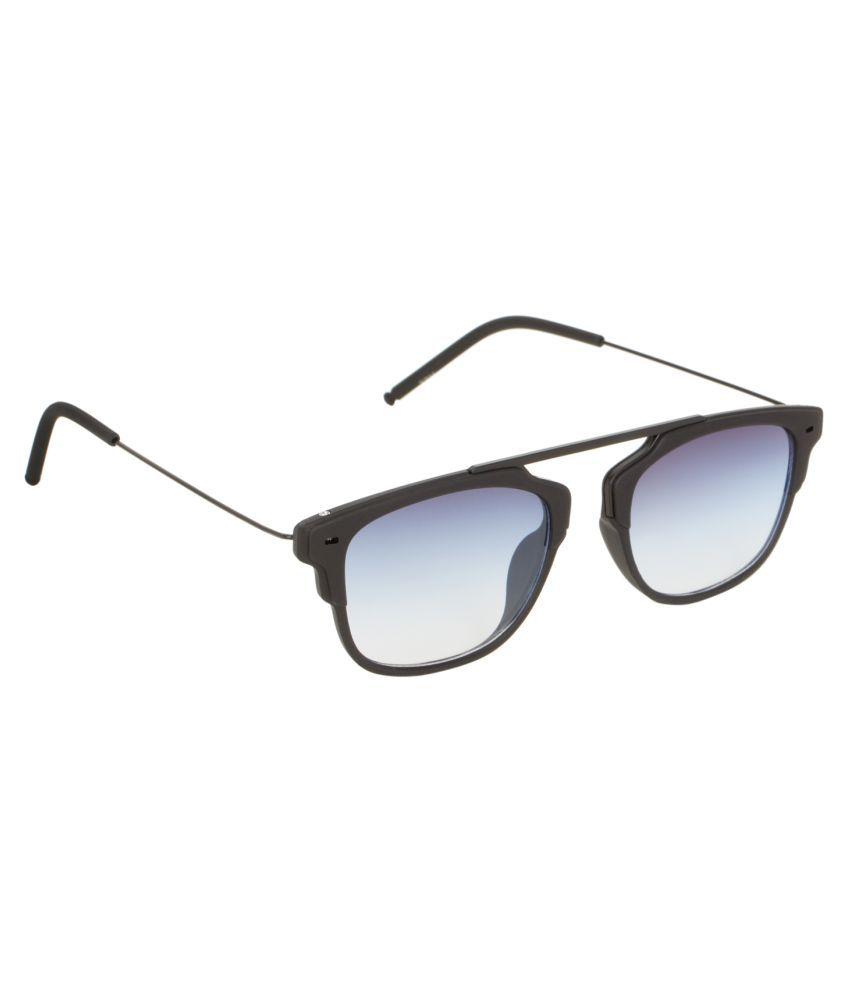 Adine - Blue Clubmaster Sunglasses ( 15926 )