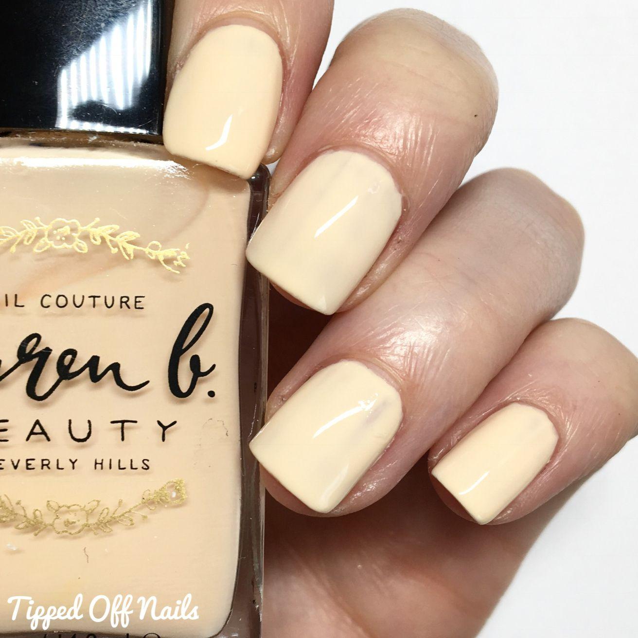 Lauren B Beauty Nude No. 1 Nail Polish Nude Matte 14.8 ml: Buy ...