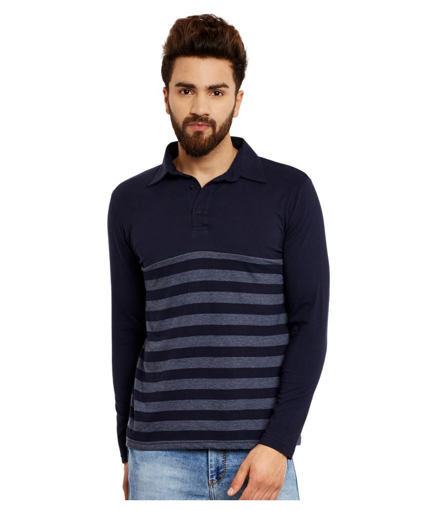 Hypernation Blue Round T-Shirt