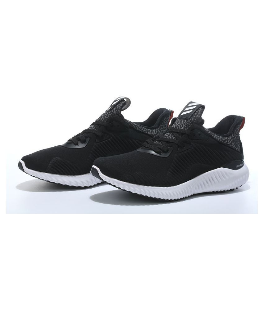 Adidas1 Alpha Bounce Black Running Shoes