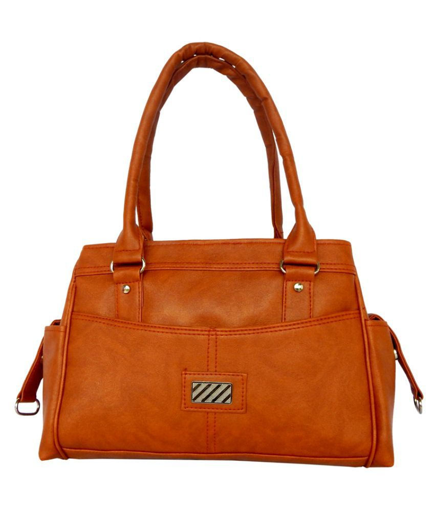 ALL DAY 365 Brown Artificial Leather Shoulder Bag