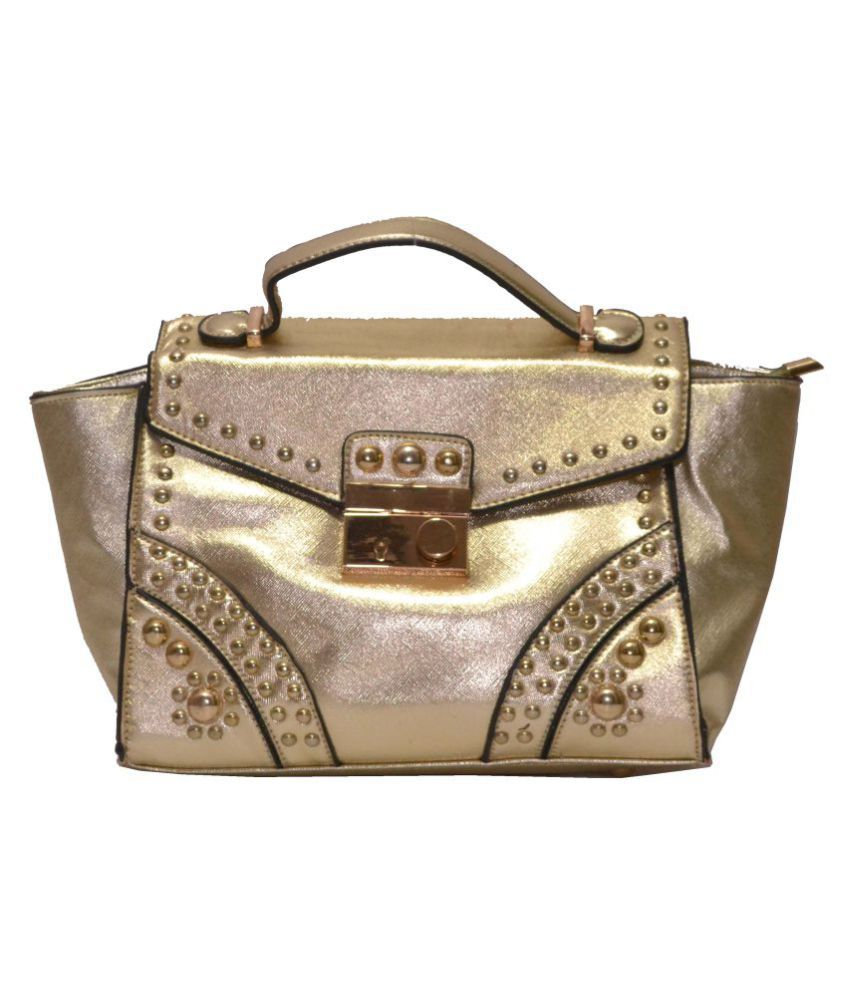 Senora Gold P.U. Sling Bag