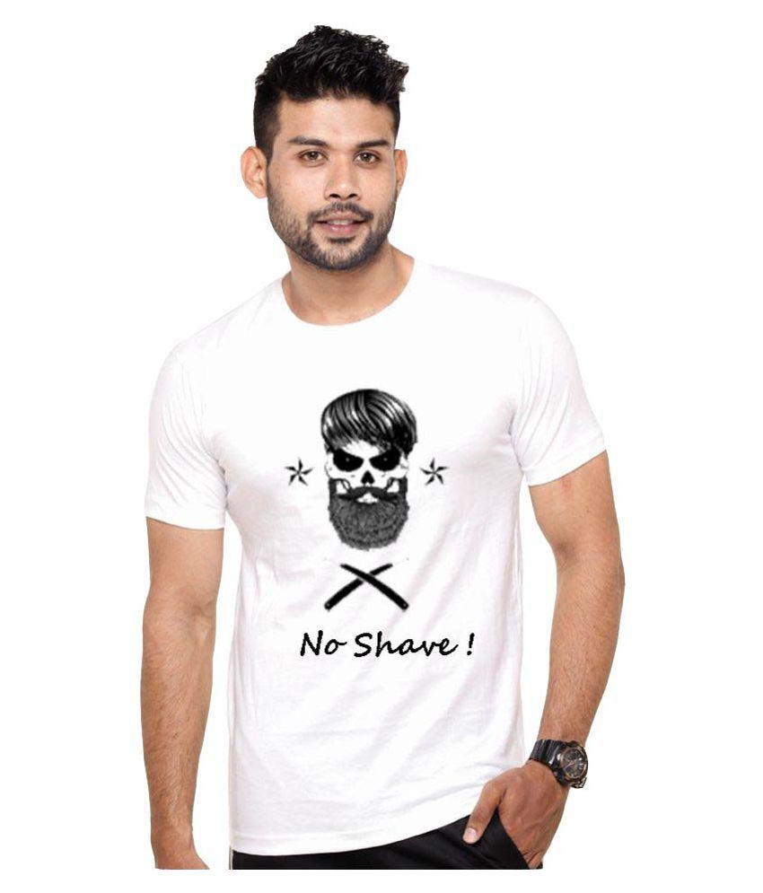 ROOR White Round T-Shirt