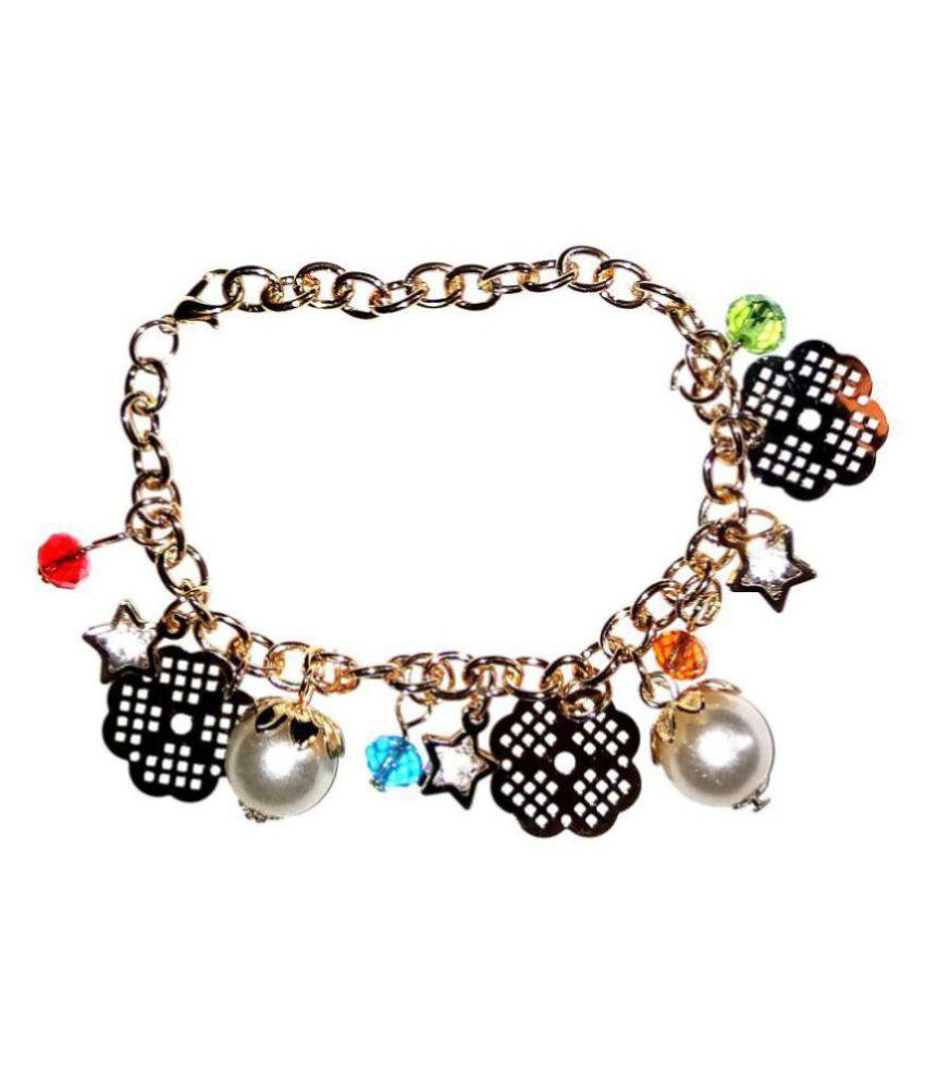 Fashionable Golden Bracelet for women & Girls By shrungarika