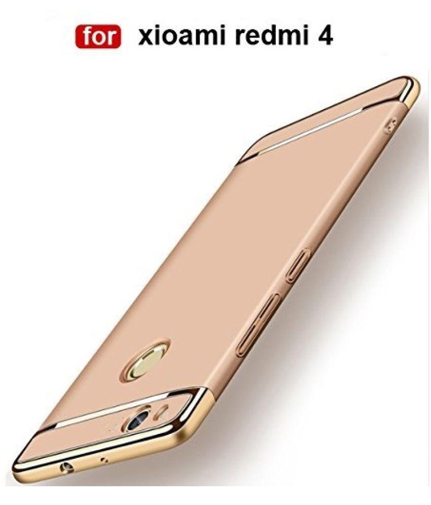 new style 41f32 567f7 Xiaomi Redmi 4 Plain Cases 2Bro - Golden