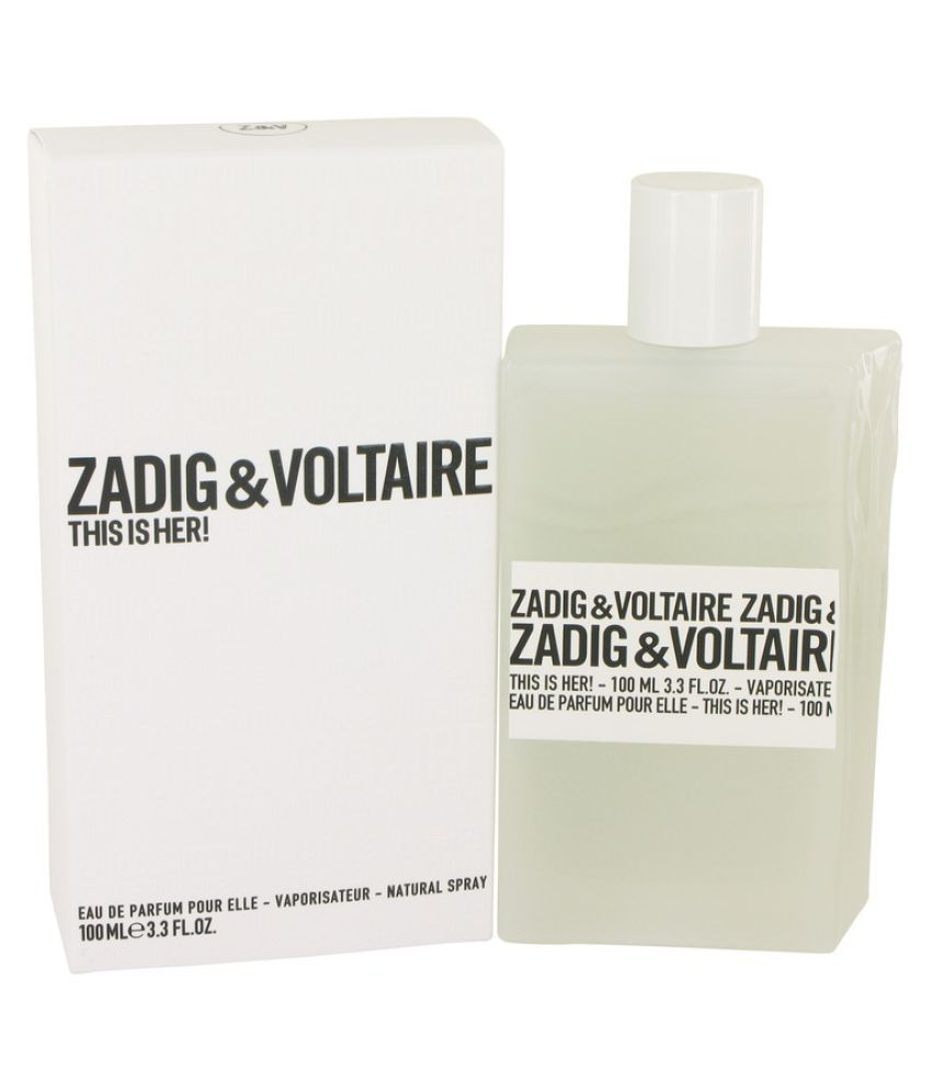 a6f74ada85e Zadig   Voltaire This Is Her Eau De Parfum Spray -100ml  Buy Online at Best  Prices in India - Snapdeal