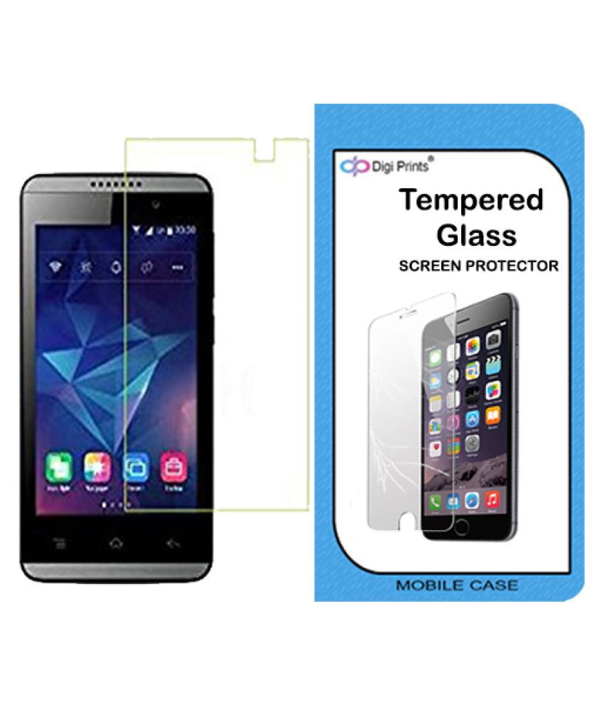 LYF Flame 3 Tempered Glass Screen Guard By Cell First