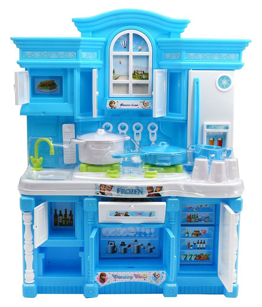 Kitchen Set Online: Maruti Frozen Kids Kitchen Set
