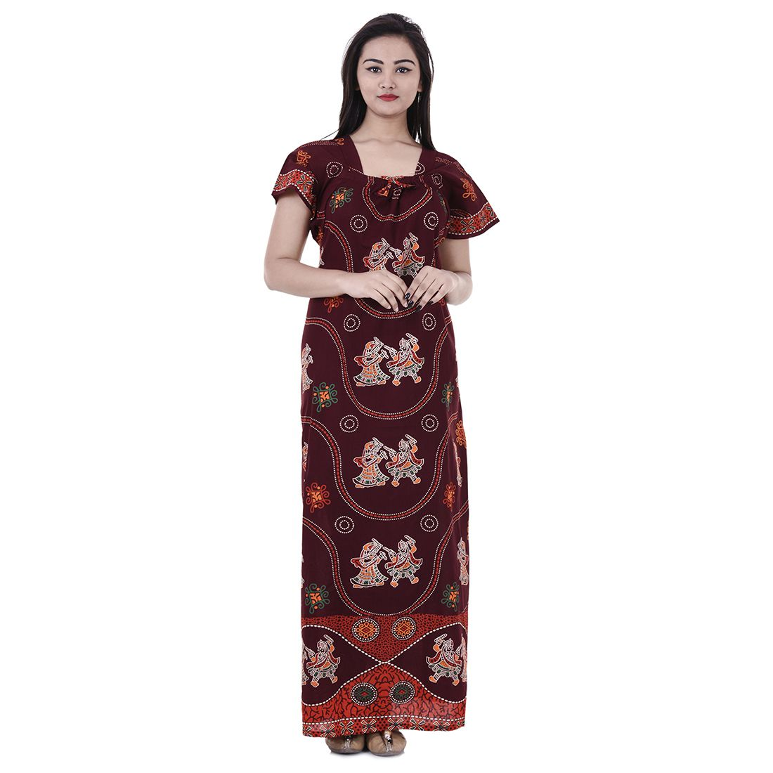 Indian Hot Style Nightwear Gown