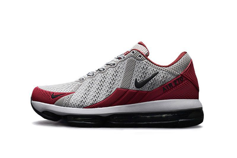 f649441734d Nike Air Max 270 Latest 2019 Red   Gray Running Shoes - Buy Nike Air Max  270 Latest 2019 Red   Gray Running Shoes Online at Best Prices in India on  Snapdeal