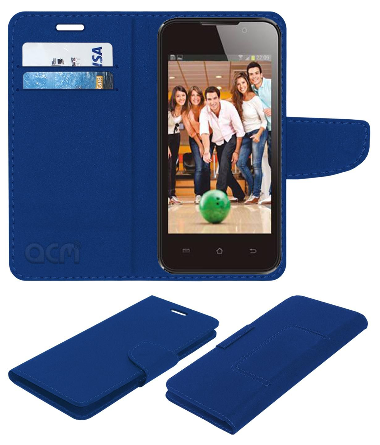 Fly F40+ Plus Flip Cover by ACM - Blue