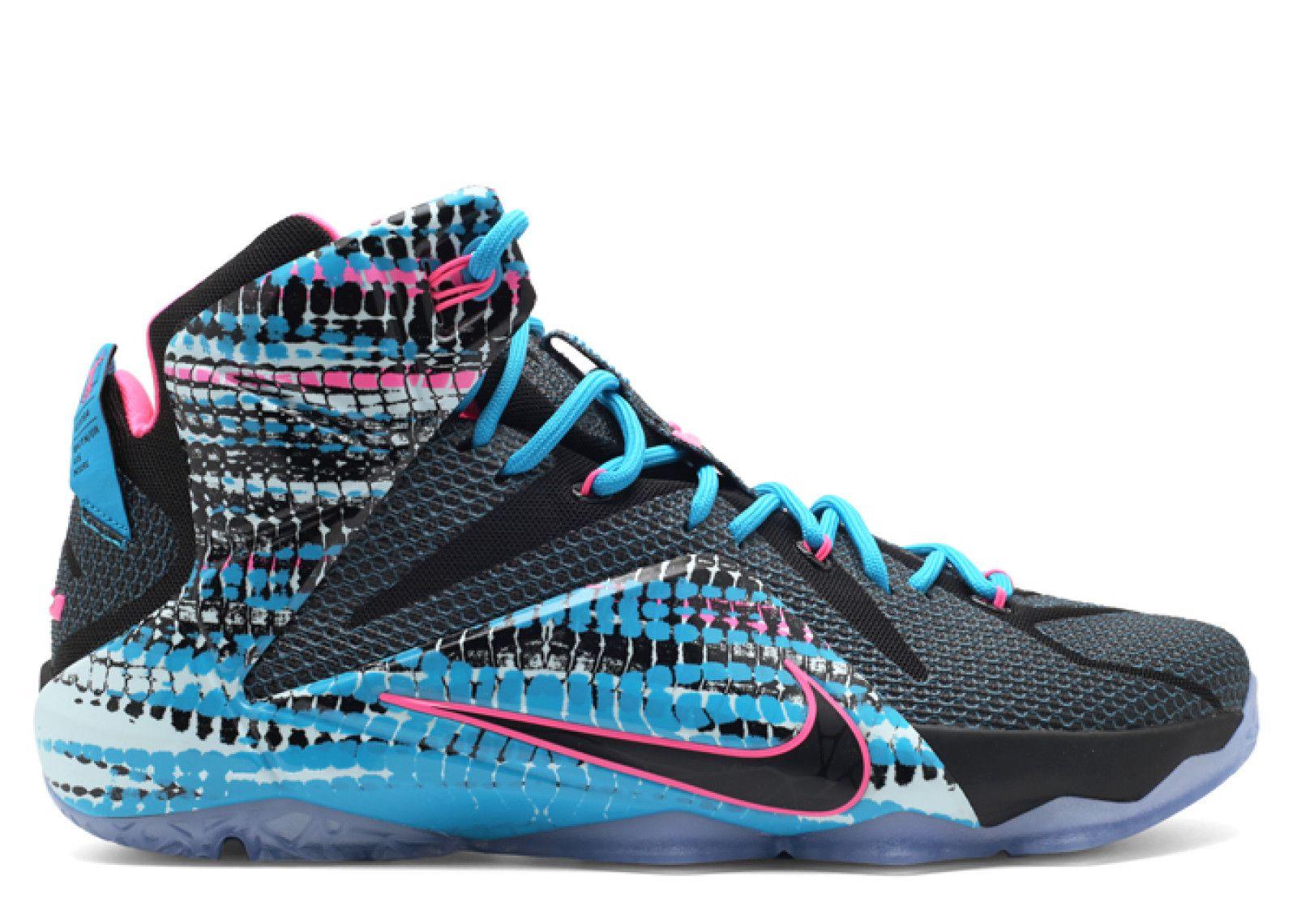 nike 2018 lebron x11 chromosomes blue basketball shoes
