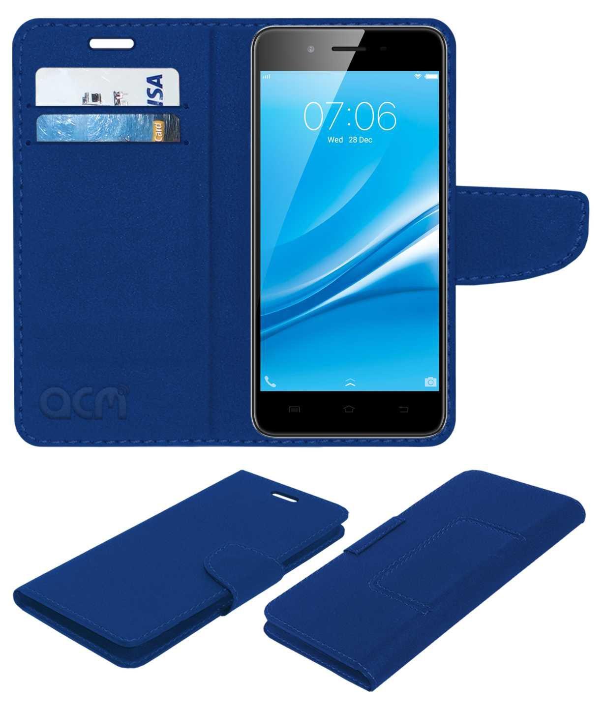 VIVO Y55S Flip Cover by ACM - Blue