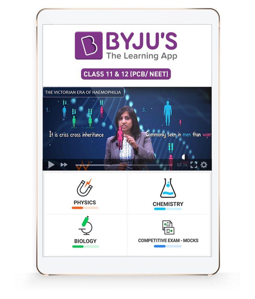 BYJU'S Class 11+12 (PCB) NEET Preparation (SD Card) SD Card