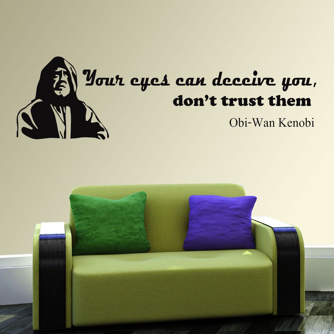 walkart quotes of eyes can deceive you dont trust Motivational Quotes Motivational Quotes PVC Sticker