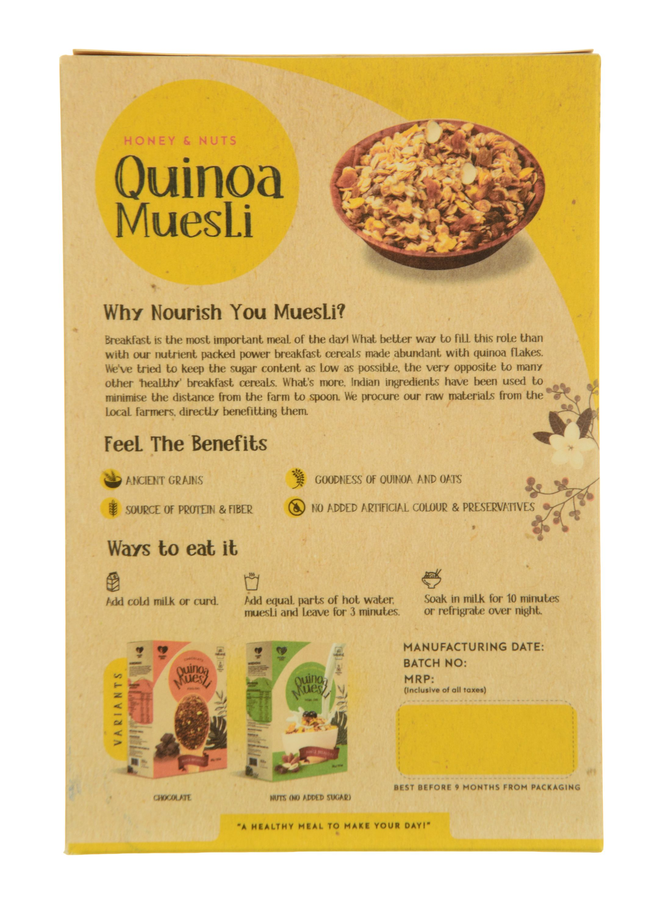 The benefits and harms of muesli: relevant information for anyone who thinks about health 10