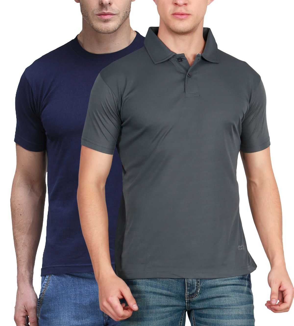 Scott International Multi Round T-Shirt Pack of 2