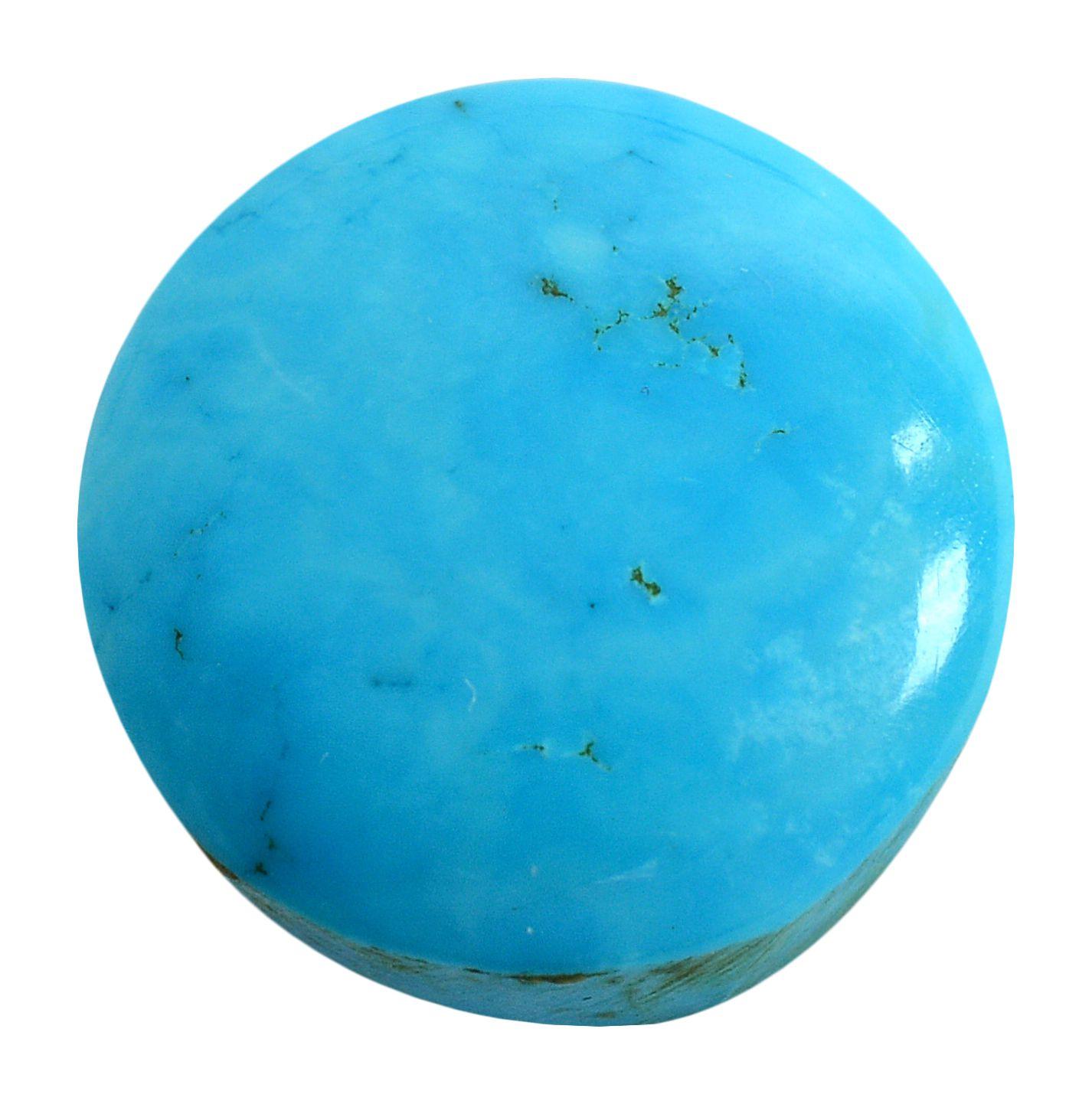 pitliya jewellers 5 -Ratti Self certified Blue Turquoise Semi-precious Gemstone