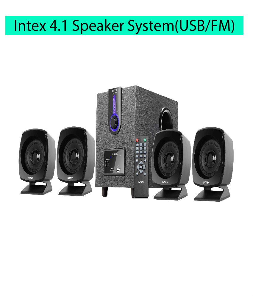 ... Intex IT-2616 SUF OS 4.1 Speaker System ...