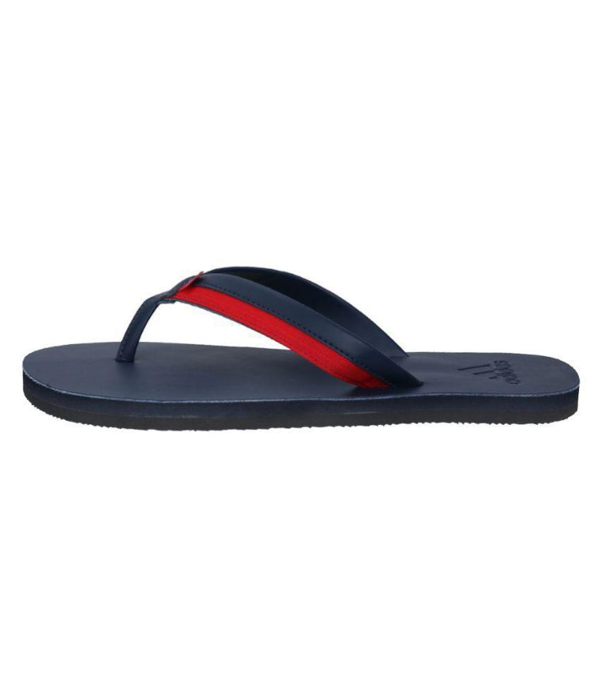 b0a8702a3 Adidas Brizo 3.0 Blue Leather Flip Flops Price in India- Buy Adidas ...