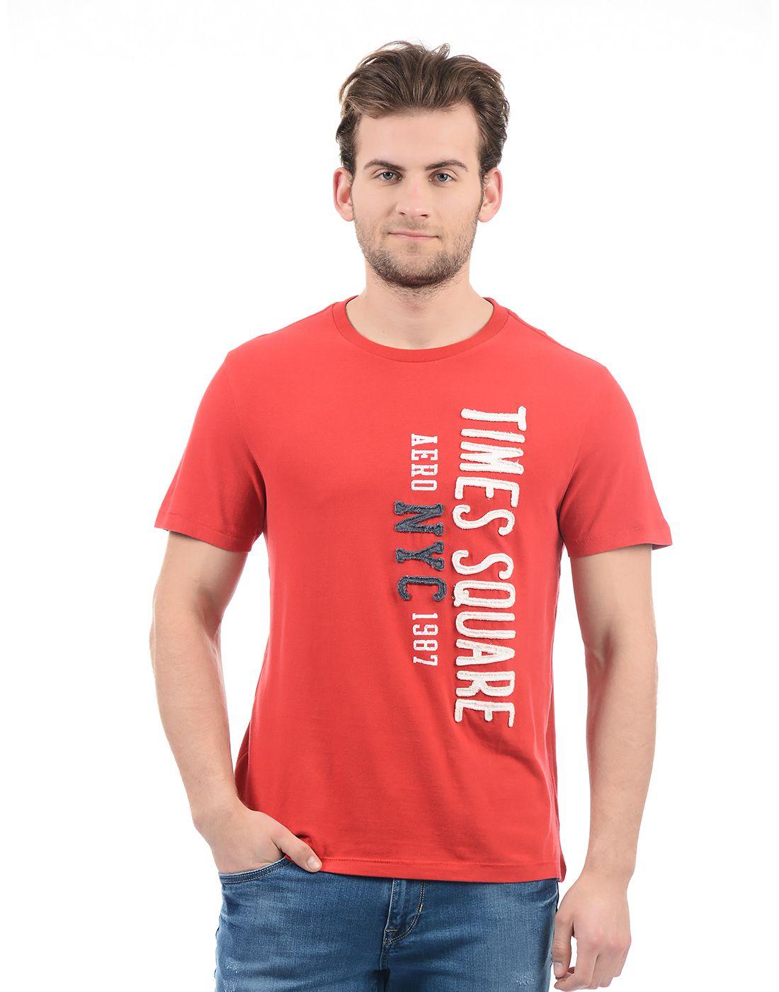 Aeropostale Red Round T-Shirt