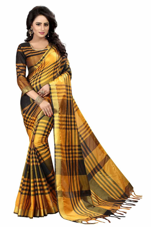 New Designer Multicoloured Cotton Silk Saree
