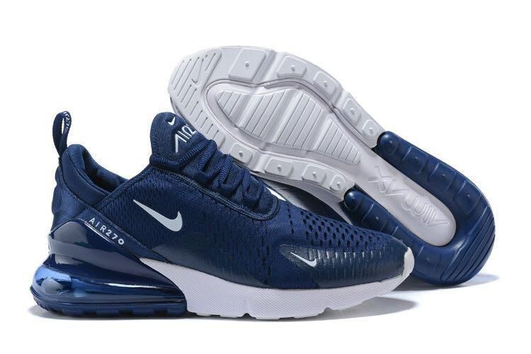 Nike Air Max 270 Navy Running Shoes