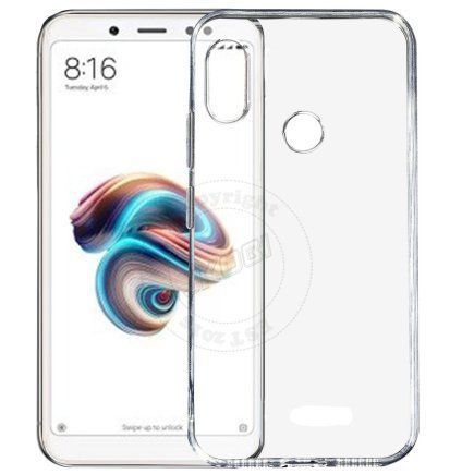 b79e67dff Xiaomi Redmi Note 5 Pro Plain Cases PIKWAY - Transparent - Plain Back Covers  Online at Low Prices