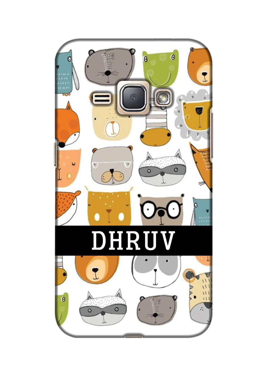 Samsung Galaxy J1 3D Back Covers By Design Worlds