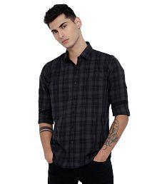 Highlander Black Slim Fit Shirt