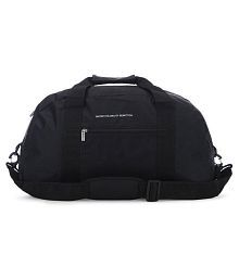 United Colors of Benetton Black Duffle Bag