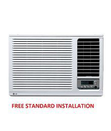 LG 1 Ton 3 Star LWA3GW3A Window Air Conditioner White (2017 Model) Free Standard Installation