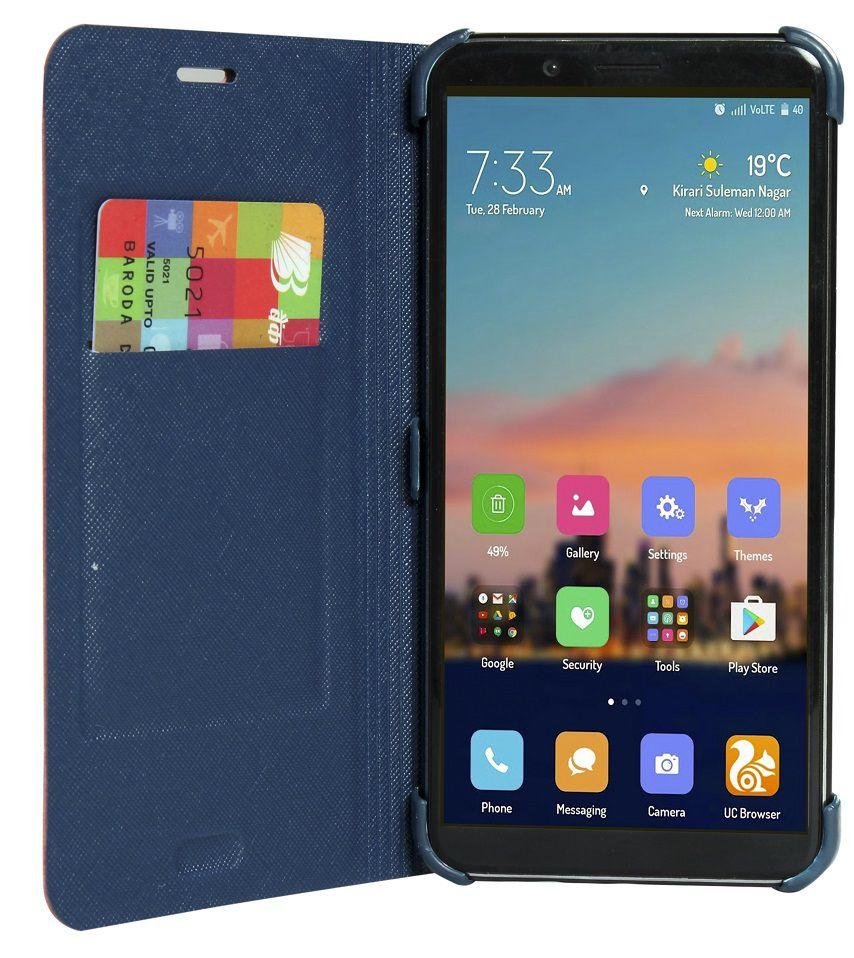 super popular bddd2 8ad91 Huawei Honor 7X Flip Cover by GadgetGuruz - Pink