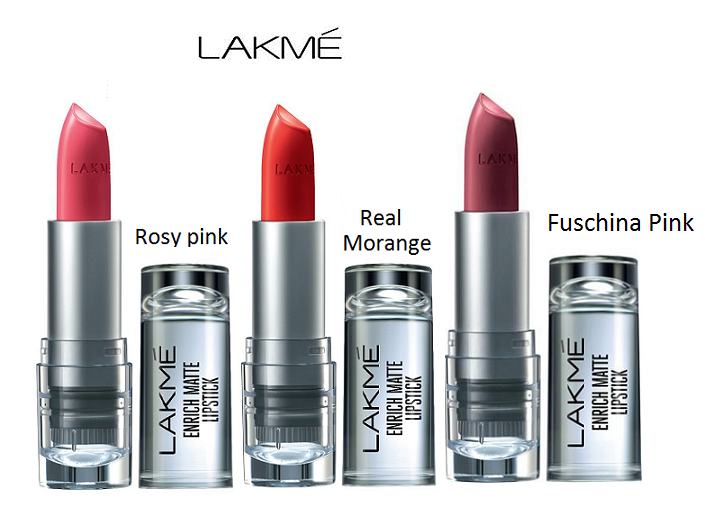 c95b3252db IMPORTEDD Lakme Enrich Matte Lipstick Combo Lips 4.7 gm: Buy IMPORTEDD Lakme  Enrich Matte Lipstick Combo Lips 4.7 gm at Best Prices in India - Snapdeal