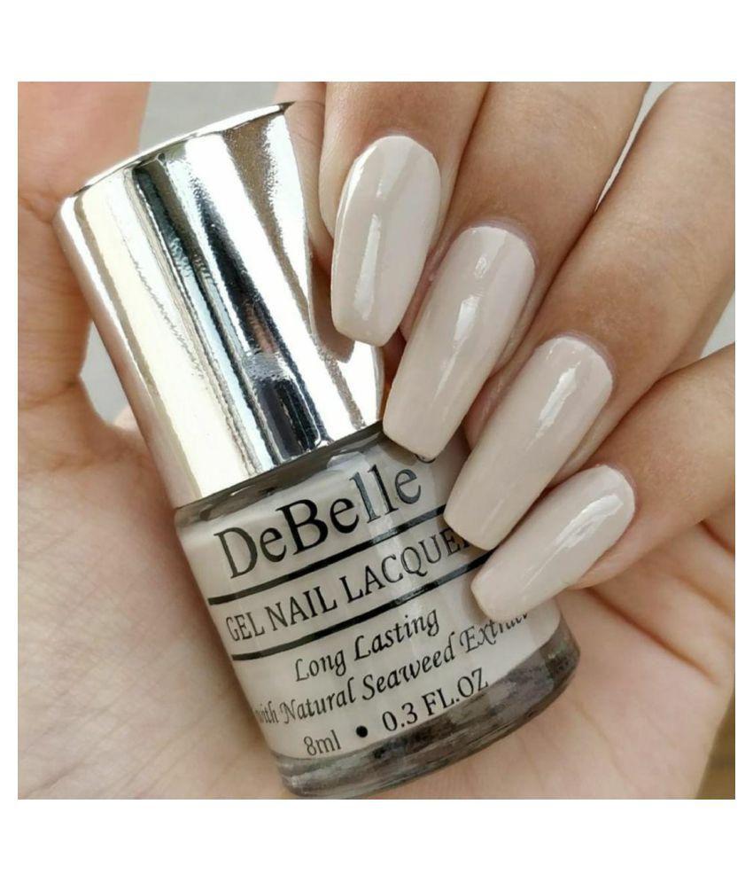 DeBelle Natural Blush Nail Polish (Nude) Matte 8 mL: Buy DeBelle ...