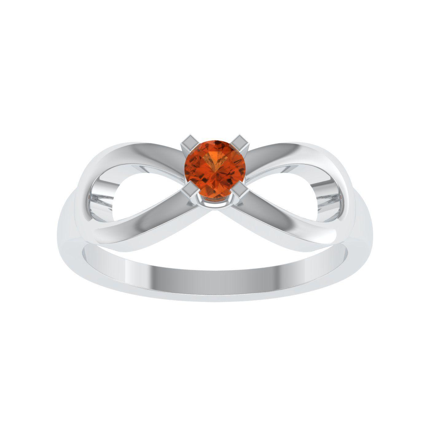 Shreeji Jewellers 92.5 Silver Ring