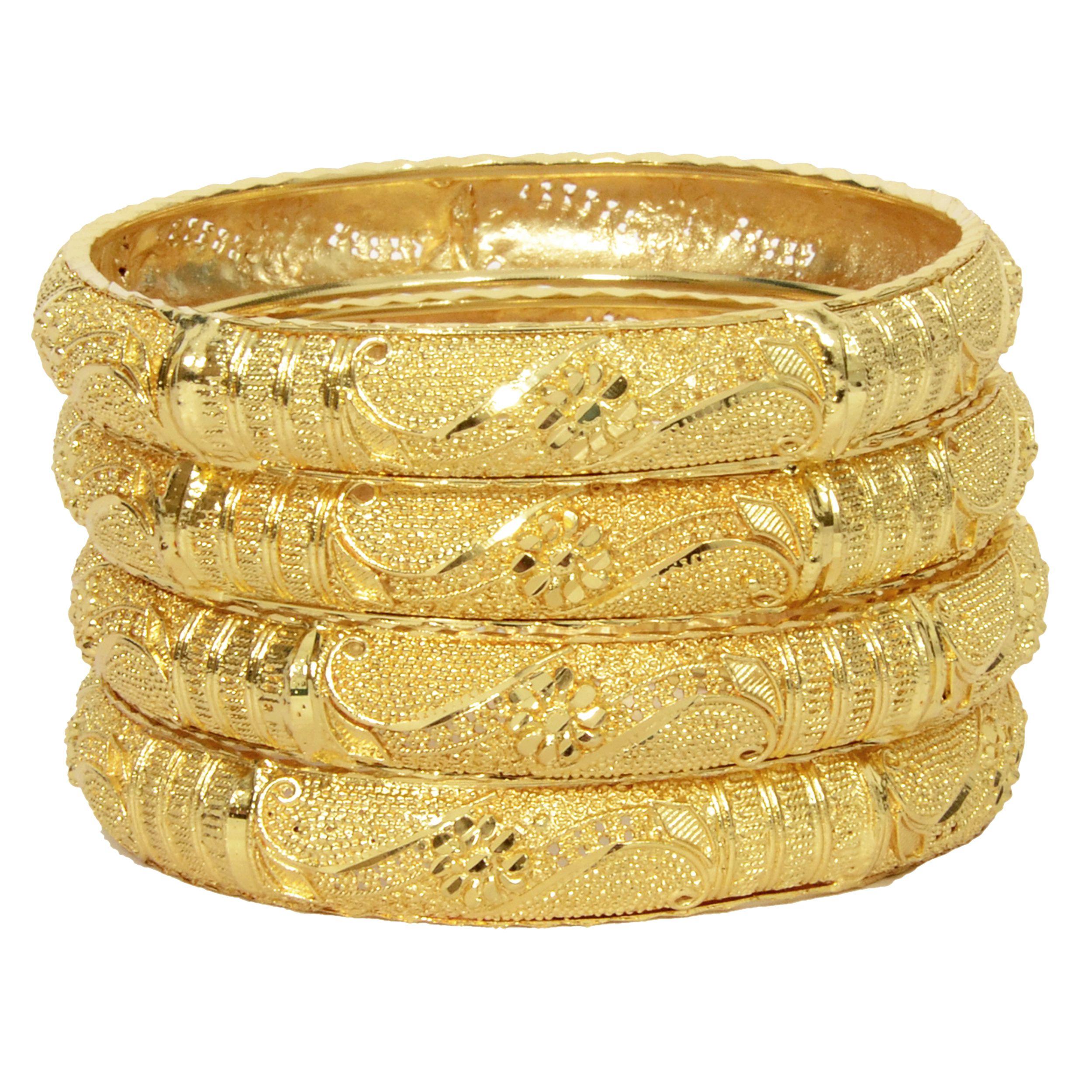 5c5ace05a Mansiyaorange Original Look Gram Gold Bangles For Women: Buy Mansiyaorange  Original Look Gram Gold Bangles For Women Online in India on Snapdeal