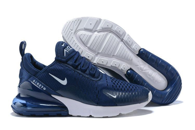d3608e1df6bd5e Nike 2018 Airmax 270 Midnight Navy Running Shoes - Buy Nike 2018 Airmax 270  Midnight Navy Running Shoes Online at Best Prices in India on Snapdeal