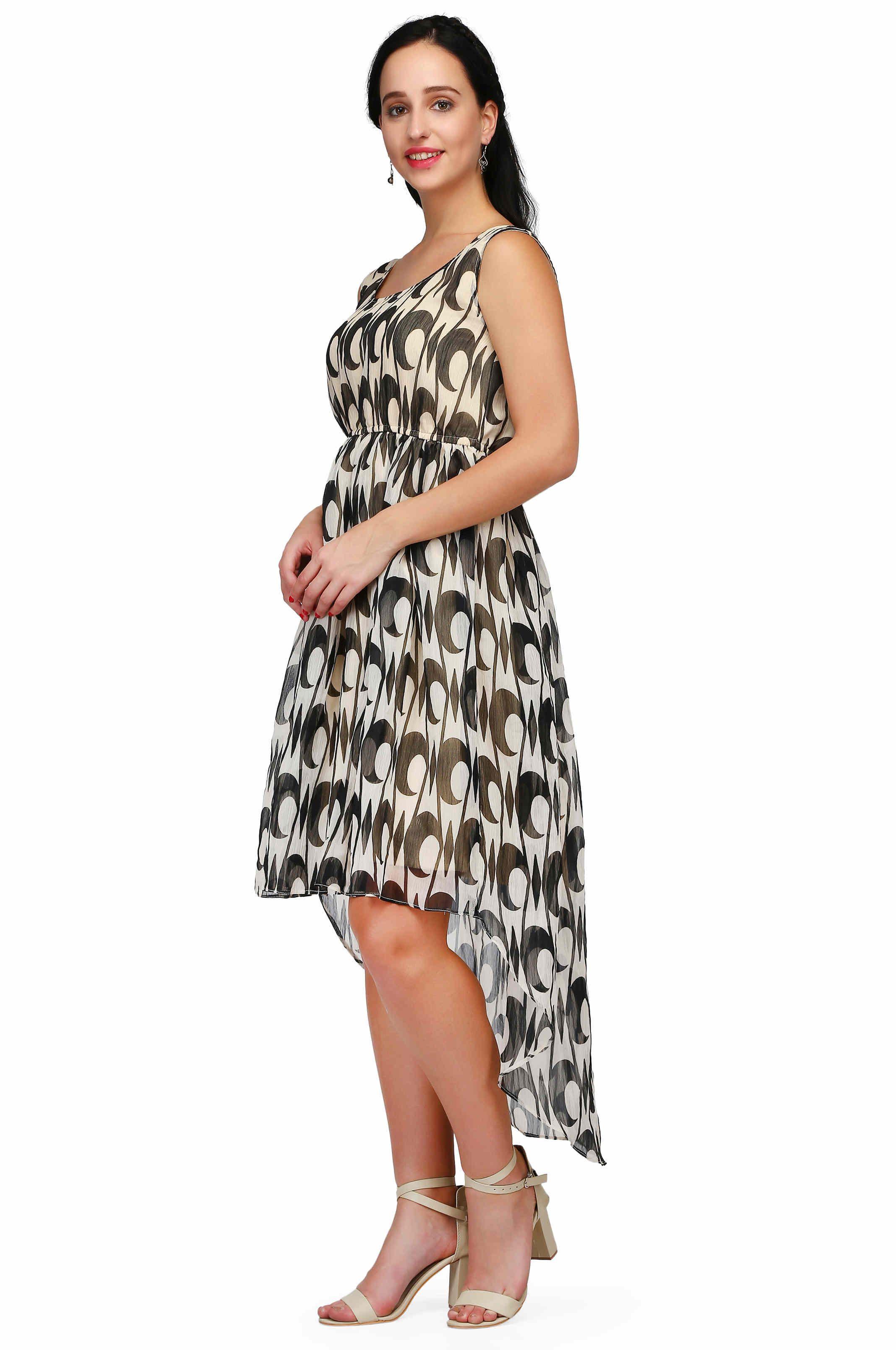 0f899ac029f4 Pret a Porter Chiffon Beige Dresses - Buy Pret a Porter Chiffon ...