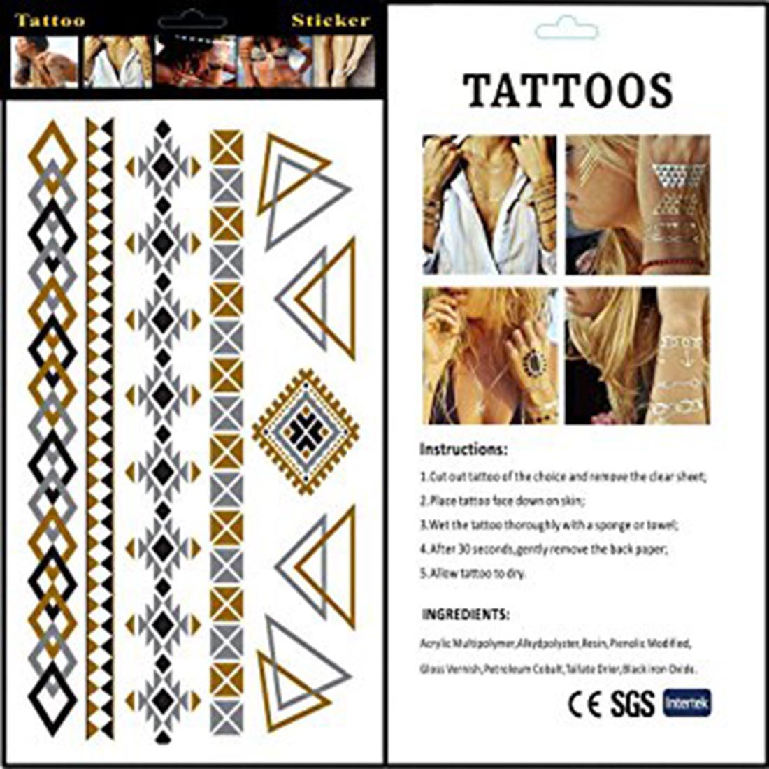 Generic Tattoo For Men Or Women Small: Generic Temporary Body Tattoo: Buy Generic Temporary Body